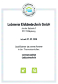 Lobmeier Zertifikat be.connect